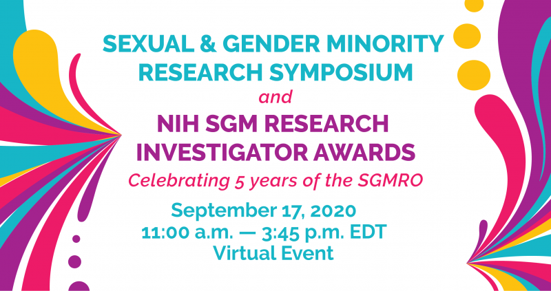 Save the Date - September 17 for SGMRO Research Symposium