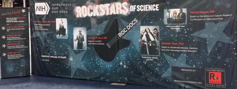 Rock Stars of Science